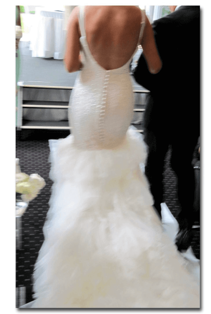 Corston Couture – Size 10 Fishtail dress   Second hand wedding dresses east gosford - 10