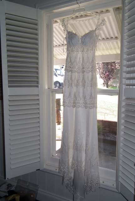 Claire Pettibone – Size 8 Vintage dress | Second hand wedding dresses Ballarat - 2
