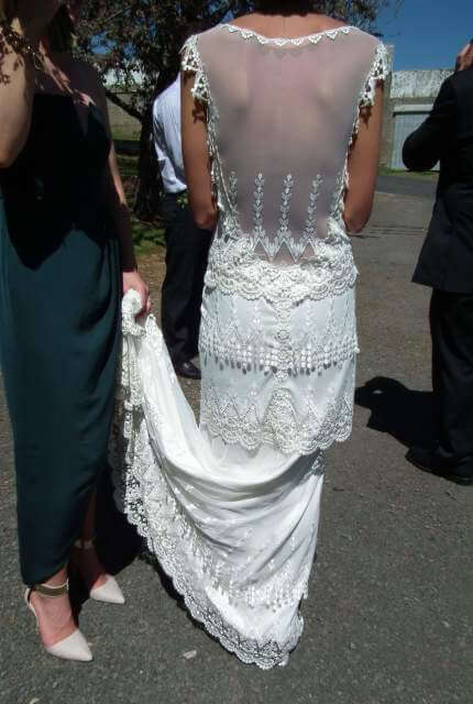 Claire Pettibone – Size 8 Vintage dress | Second hand wedding dresses Ballarat - Size 8