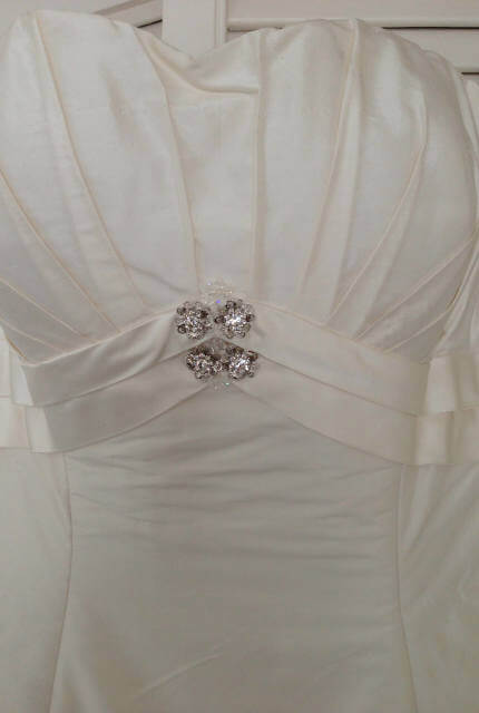 Jean Fox – Size 14 A-Line dress | Second hand wedding dresses Port Macquarie - 2