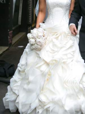 Bespoke / Other – Size 8 Ball Gown dress | Second hand wedding dresses rowville - 5