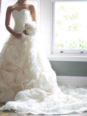 Bespoke / Other – Size 8 Ball Gown dress | Second hand wedding dresses rowville - 2