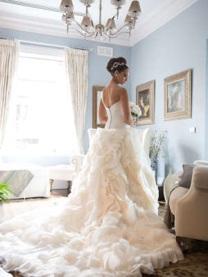 Bespoke / Other – Size 8 Ball Gown dress | Second hand wedding dresses rowville - 3