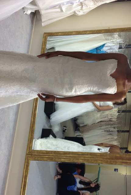 Mia Solano – Size 8 A-Line dress | Second hand wedding dresses wooloowin - Size 8
