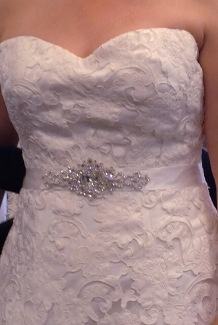 Henry Roth – Size 16 A-Line dress | Second hand wedding dresses Warrnambool - 3