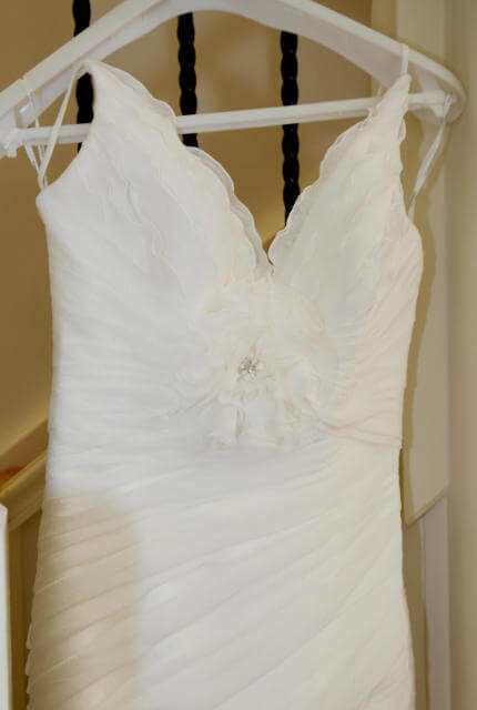 Pronovias – Size 8 Fishtail dress | Second hand wedding dresses Rowville - 5