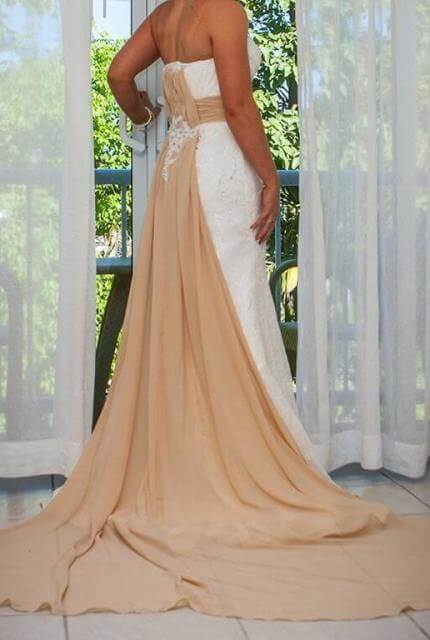 Mermaid Bridal – Size 8 Strapless dress | Second hand wedding dresses Ormeau Hills - 3