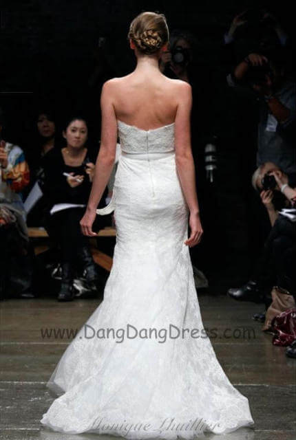 Monique Lhuillier – Size 6 A-Line dress | Second hand wedding dresses Bundoora - 10