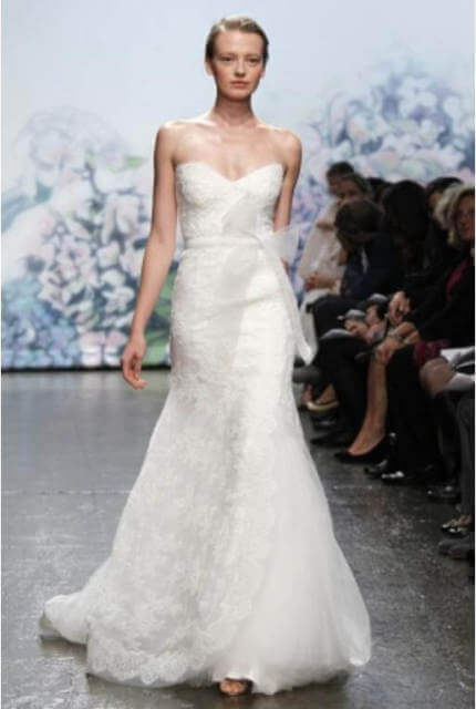 Monique Lhuillier – Size 6 A-Line dress | Second hand wedding dresses Bundoora - 8