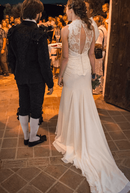 Franc Sarabia – Size 10 Fishtail dress | Second hand wedding dresses Potts Point - 2