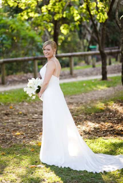 Ella Bridal – Size 8 Petite dress | Second hand wedding dresses Pakenham - 4