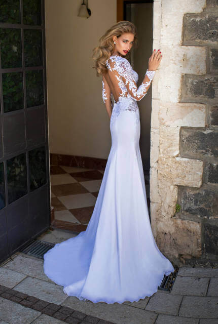 Nurit Hen – Size 8 Fishtail dress | Second hand wedding dresses Sydney - Size 8