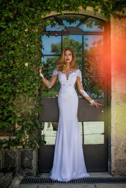 Nurit Hen – Size 8 Fishtail dress | Second hand wedding dresses Sydney - 5