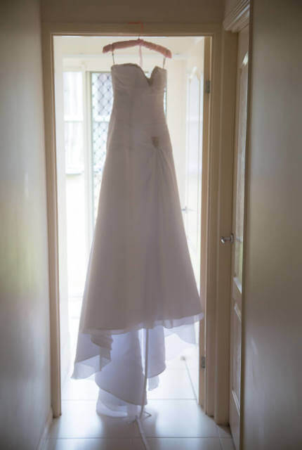 Mia Solano – Size 10 A-Line dress | Second hand wedding dresses ROTHWELL - Size 10