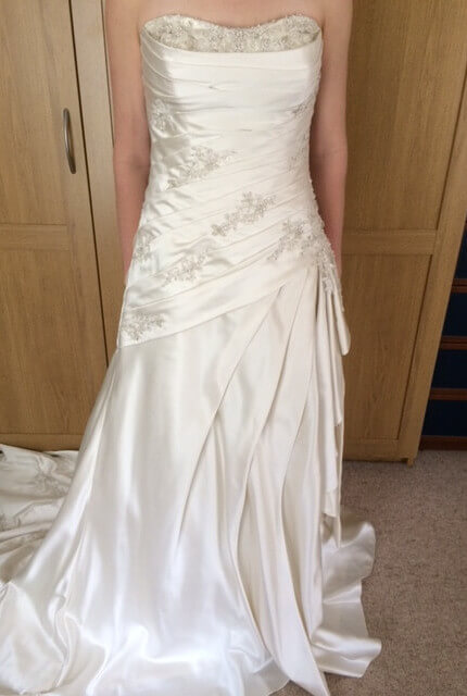 Briony Leigh – Size 12 A-Line dress | Second hand wedding dresses Illawong - Size 12