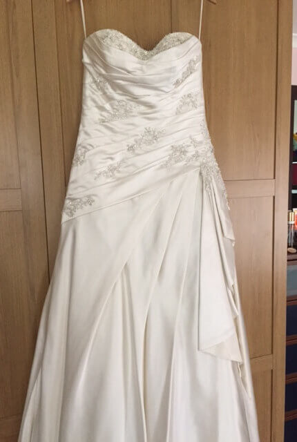 Briony Leigh – Size 12 A-Line dress | Second hand wedding dresses Illawong - 5