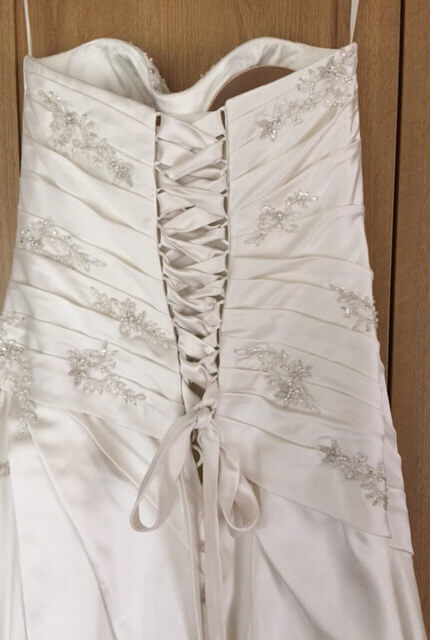 Briony Leigh – Size 12 A-Line dress   Second hand wedding dresses Illawong - 3