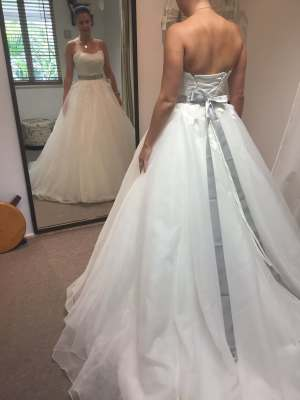 Maggie Sottero – Size 12 Ball Gown dress | Second hand wedding dresses Wynnum West - 5