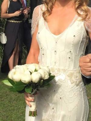 Jenny Packham – Size 10 Slip dress | Second hand wedding dresses Darling Point - 3