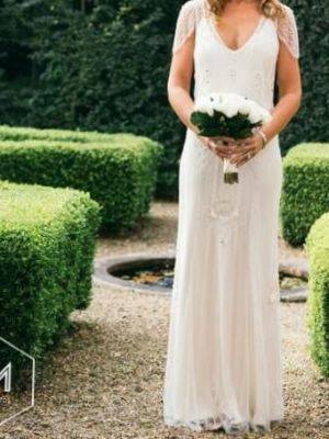 Jenny Packham – Size 10 Slip dress | Second hand wedding dresses Darling Point - 2