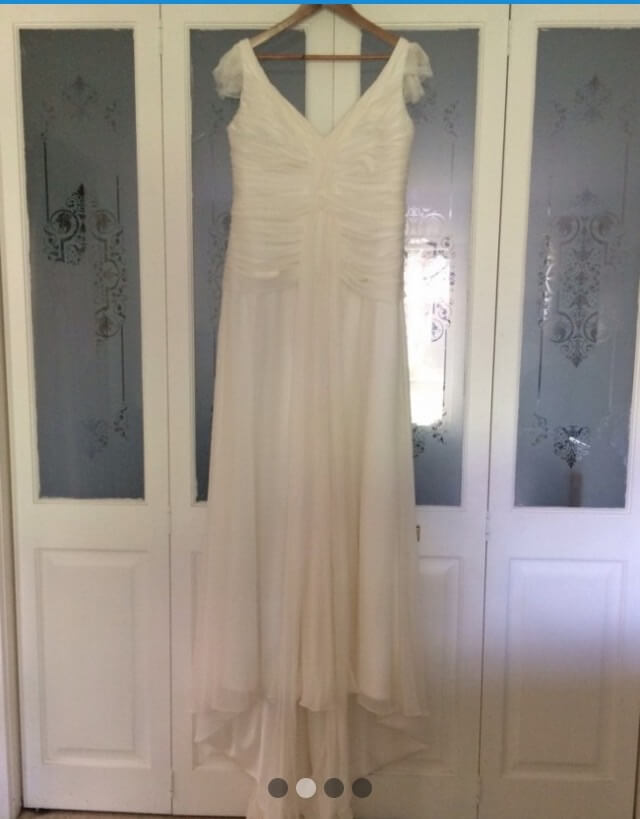 Andrea Gorrie – Size 8 Fishtail dress | Second hand wedding dresses Doreen - Size 8