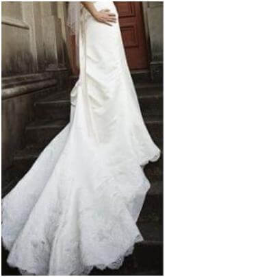 Angeline – Size 12 Strapless dress | Second hand wedding dresses McDowall - 2