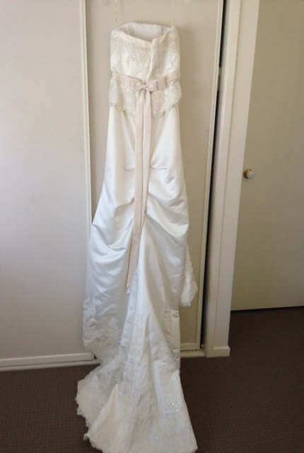 Angeline – Size 12 Strapless dress | Second hand wedding dresses McDowall - 5