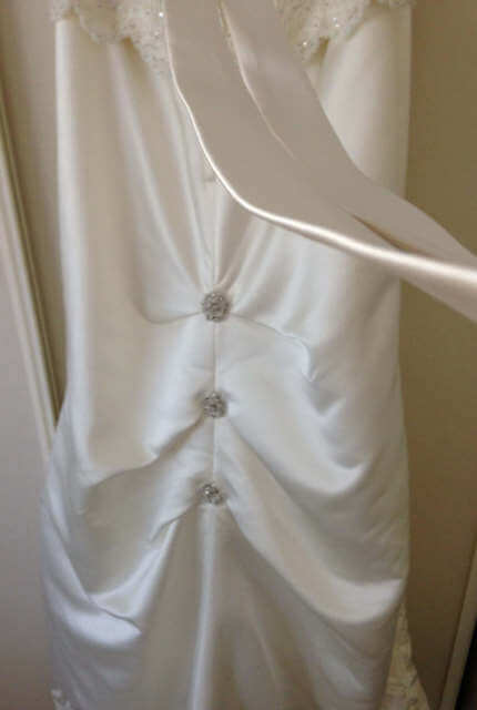 Angeline – Size 12 Strapless dress | Second hand wedding dresses McDowall - 7