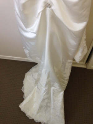 Angeline – Size 12 Strapless dress | Second hand wedding dresses McDowall - 8