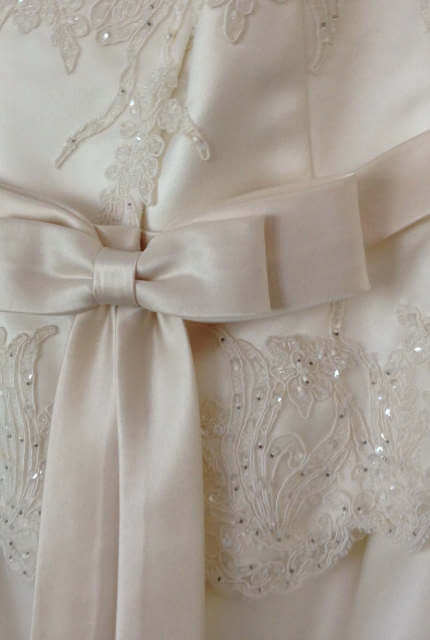 Angeline – Size 12 Strapless dress | Second hand wedding dresses McDowall - 9