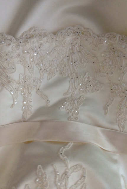 Angeline – Size 12 Strapless dress | Second hand wedding dresses McDowall - 10