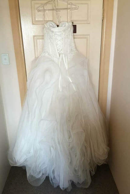 Pronovias – Size 10 Ball Gown dress | Second hand wedding dresses Miranda - 7