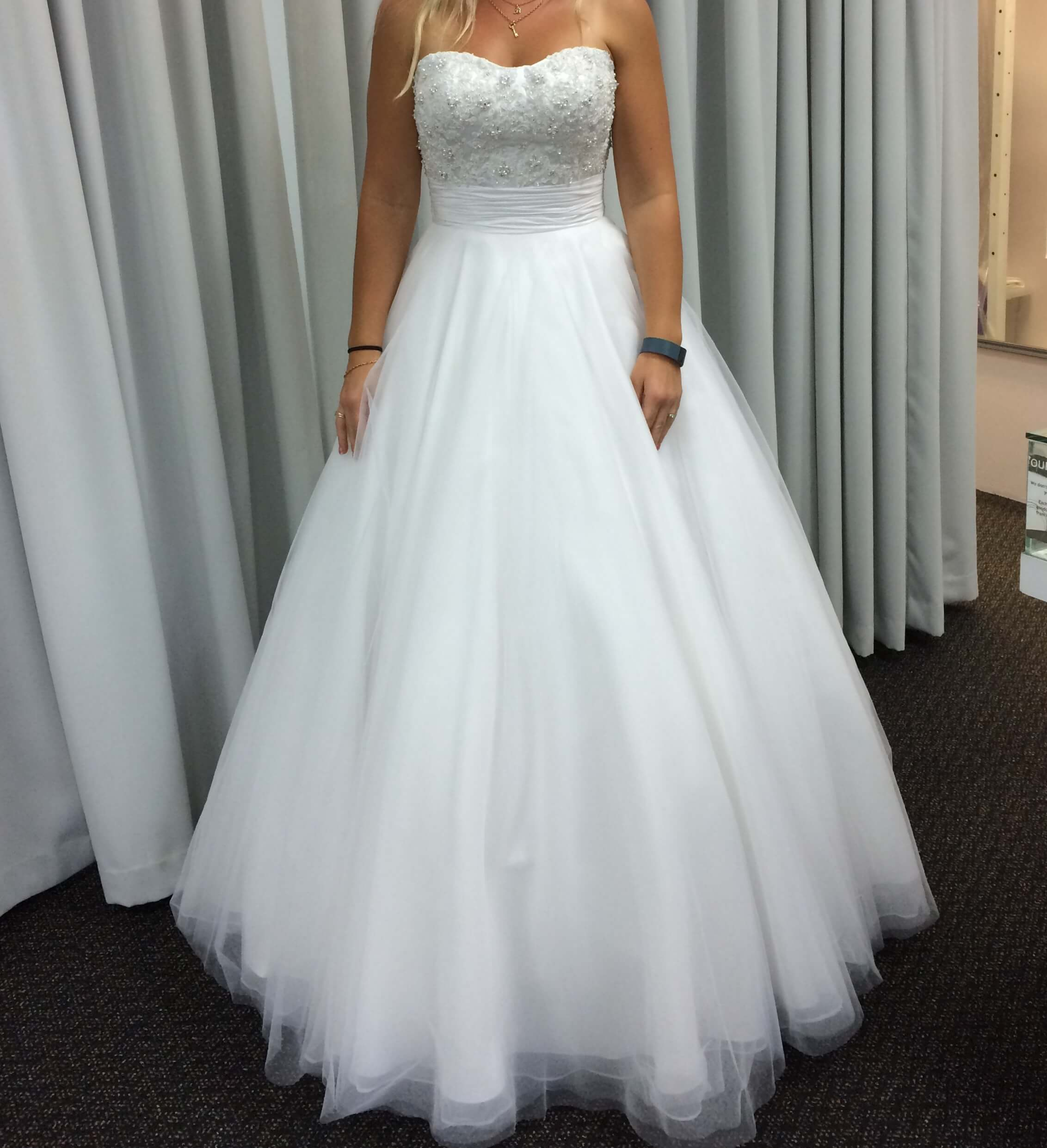 Angeline – Size 8 A-Line dress | Second hand wedding dresses Currambine - Size 8