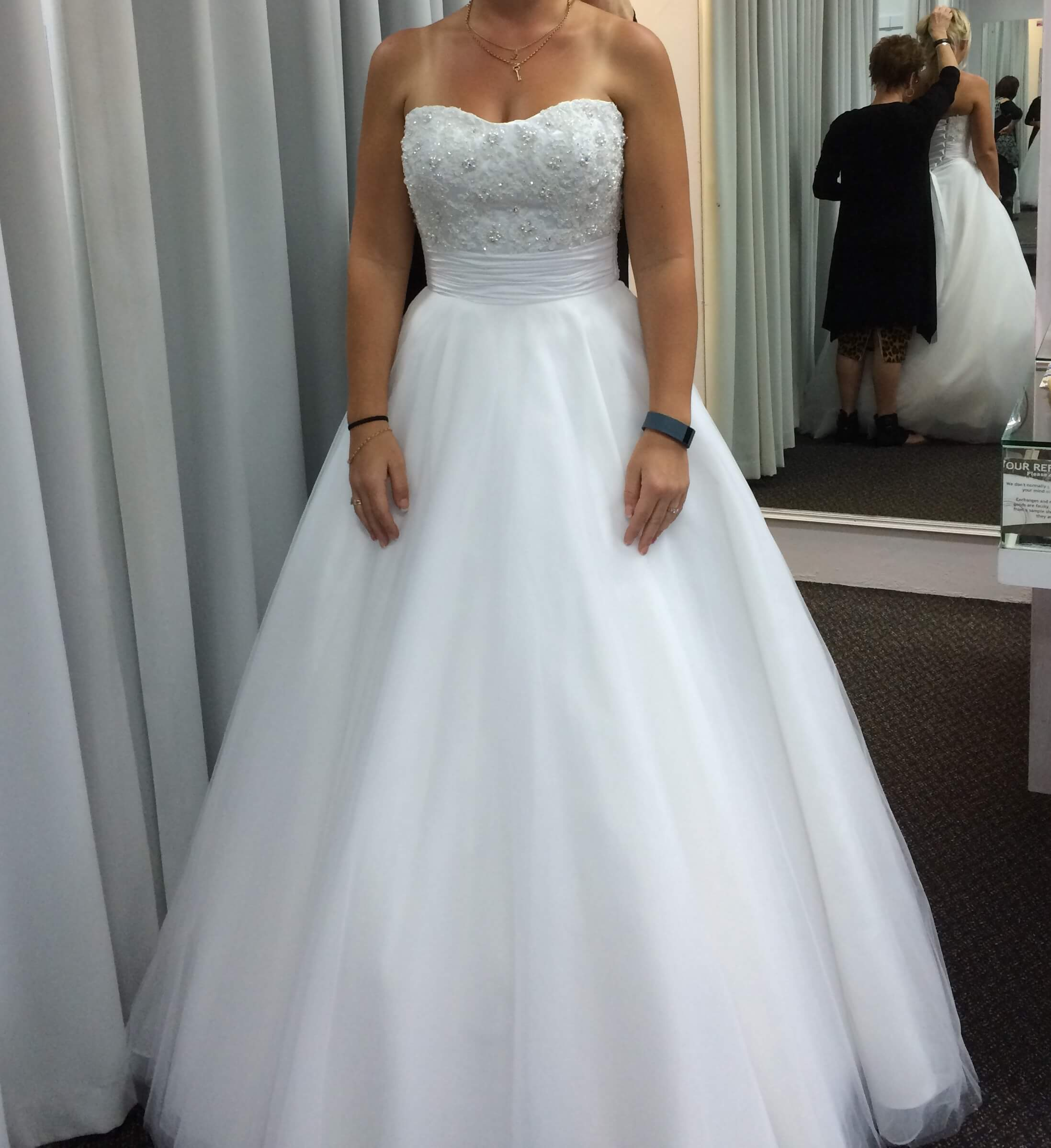 Simple 2nd Wedding Ideas: Angeline - Size 8 A-Line Dress