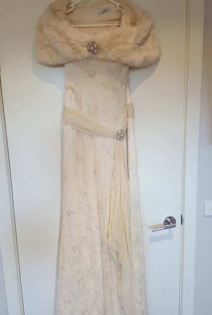 Luci Di Bella – Size 10 Vintage dress | Second hand wedding dresses Mount Waverley - Size 10