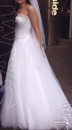 Tulle dress – Size 8 Ball Gown dress | Second hand wedding dresses Northgate - 4
