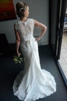 San Patrick – Size 10 A-Line dress | Second hand wedding dresses Nunawading - Size 10