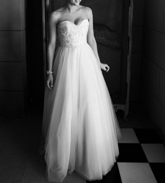 Simple 2nd Wedding Ideas: Suzanne Harward - Size 10 Strapless Dress