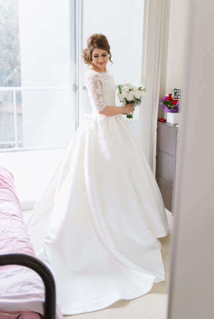 La Sposa – Size 8 Ball Gown dress | Second hand wedding dresses Penrith - Size 8