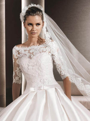 La Sposa – Size 8 Ball Gown dress | Second hand wedding dresses Penrith - 7