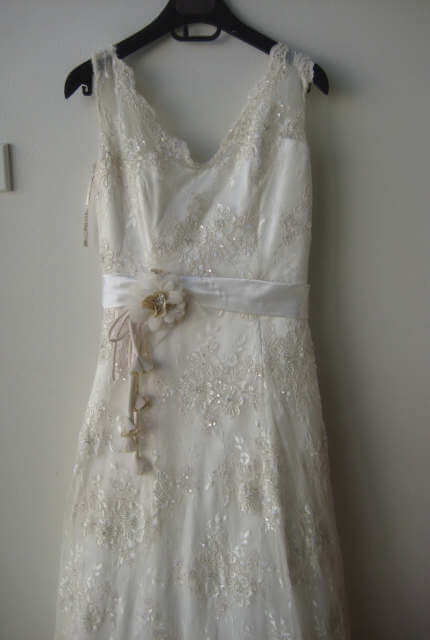 Maggie Sottero – Size 10 A-Line dress | Second hand wedding dresses Canberra - 2