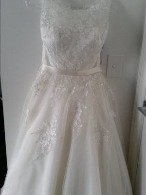 Jean Fox – Size 8 A-Line dress | Second hand wedding dresses Nailsworth - 3