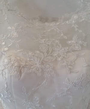 Jean Fox – Size 8 A-Line dress | Second hand wedding dresses Nailsworth - 4