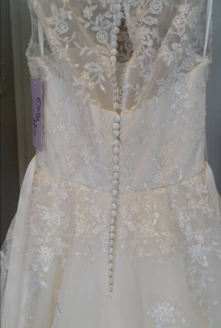 Jean Fox – Size 8 A-Line dress | Second hand wedding dresses Nailsworth - 5