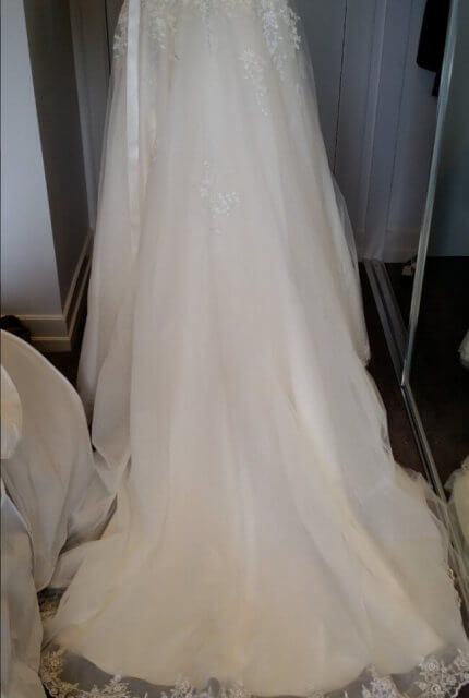 Jean Fox – Size 8 A-Line dress | Second hand wedding dresses Nailsworth - 6