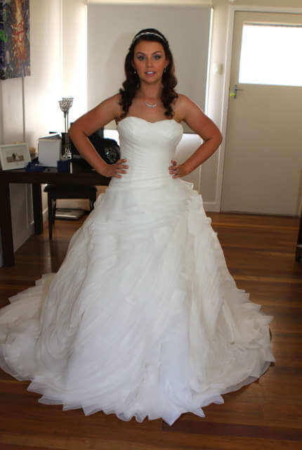 Winnie Bridal – Size 10 Ball Gown dress   Second hand wedding dresses stafford heights - Size 10