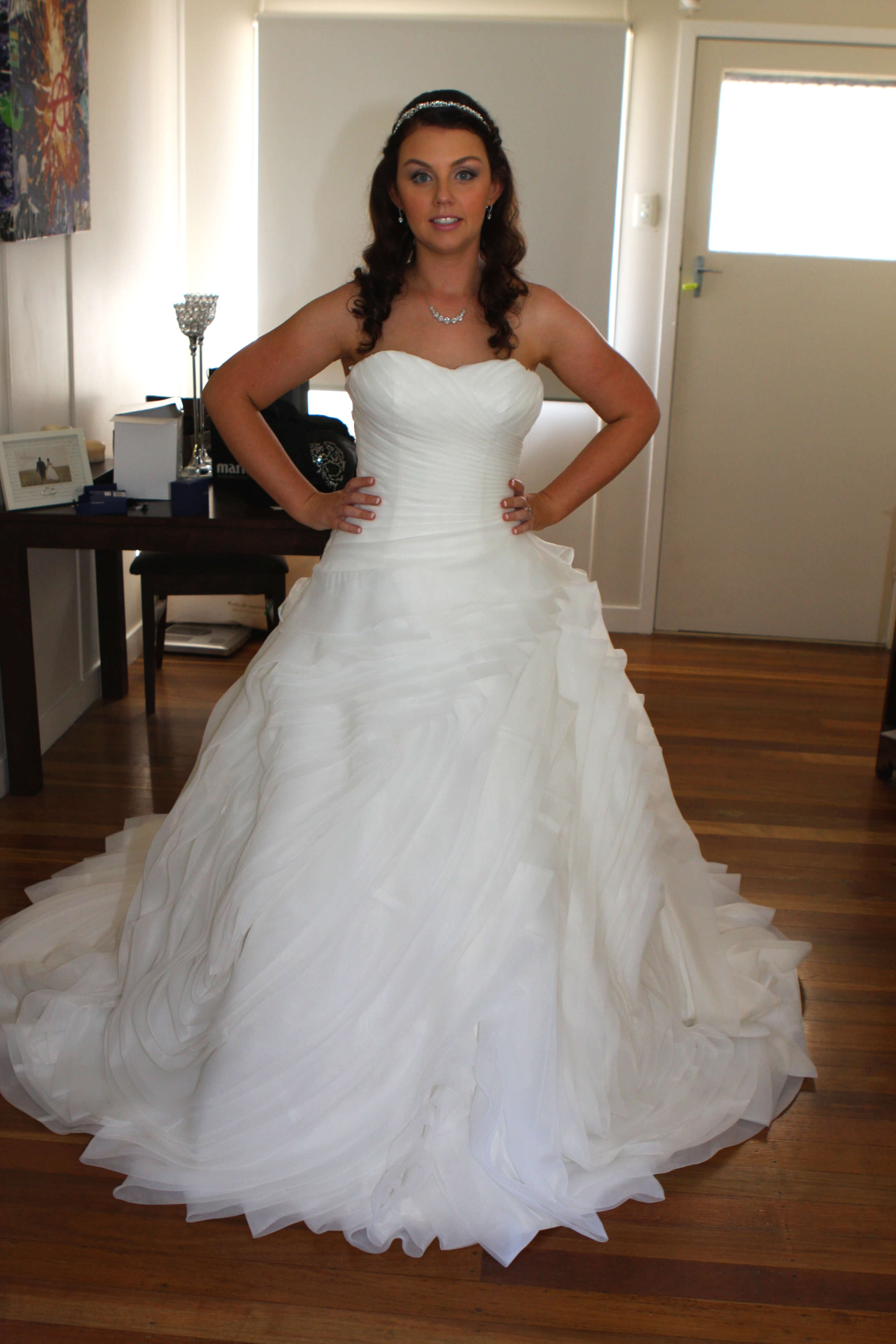 Winnie Bridal – Size 10 Ball Gown dress | Second hand wedding dresses stafford heights - Size 10