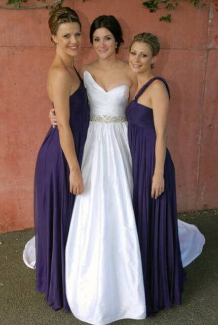 SilkDuponi dress – Size 8 Ball Gown dress | Second hand wedding dresses Everton Park - 2