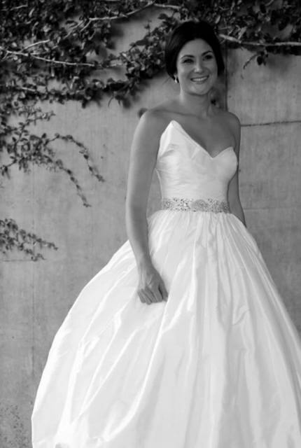 SilkDuponi dress – Size 8 Ball Gown dress | Second hand wedding dresses Everton Park - 4