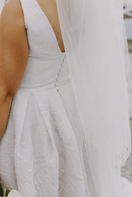 Moira Hughes – Size 8 Ball Gown dress | Second hand wedding dresses Berwick - Size 8